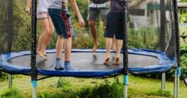 trampolin klappbar